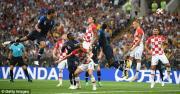 Kết quả, tỷ số trận Pháp vs Croatia: Chung kết mãn nhãn
