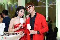Tim - Trương Quỳnh Anh diện đồ đôi ở sự kiện