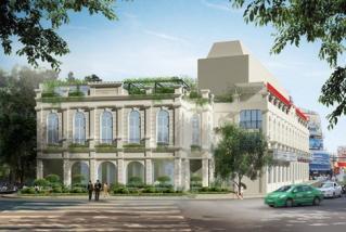 Hà Nội xây trung tâm văn hóa 4 tầng sát hồ Gươm