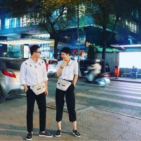 Chẳng cần phải là couple, Valentine cứ diện đồ đôi như Duy Khánh - Miu Lê là đẹp hết nấc